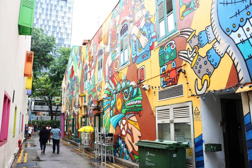 ตะลุยเที่ยวย่านอาร์ต + คาเฟ่ ใน 'สิงคโปร์' : 3วัน 3คืน งบนิดเดียว