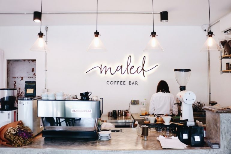 maled coffee bar