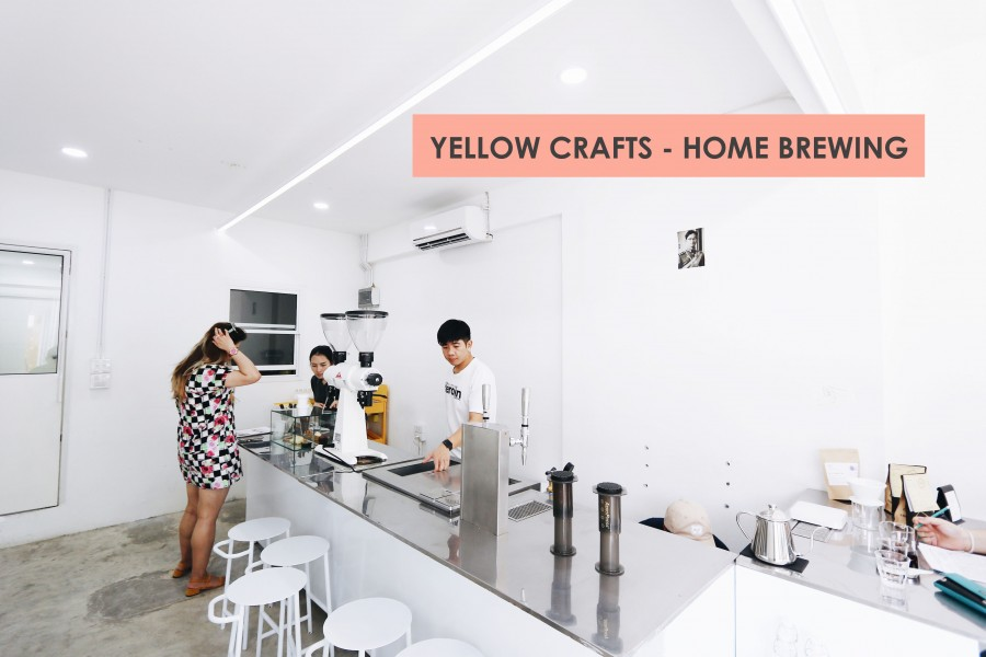 08 yellow craft - HOME BREWING