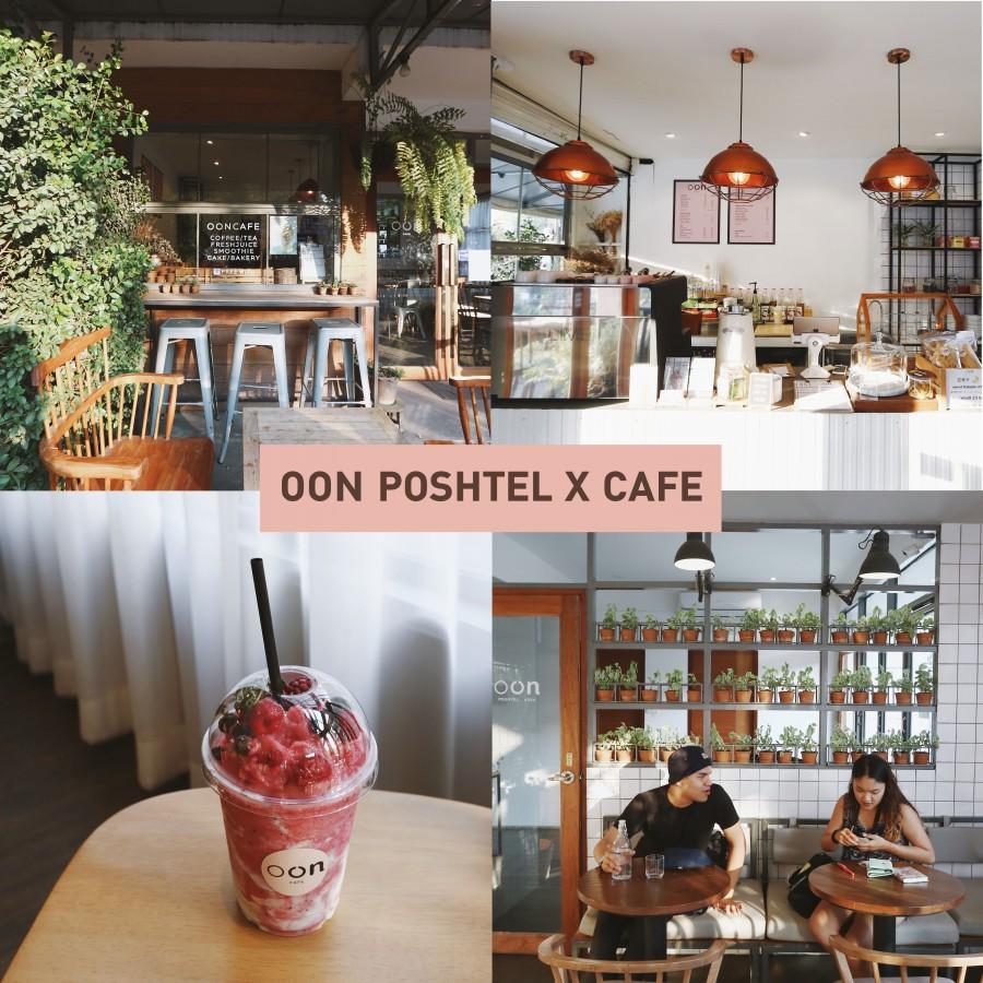 OON POSHTEL X CAFE