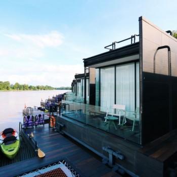 ไปพักผ่อน นอนแพสุดหรูริมแม่น้ำแควกัน! ที่ Cross River Kwai Resort จ.กาญจนบุรี